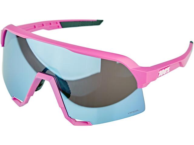 100% S3 Lunettes, pink/hiper mirror